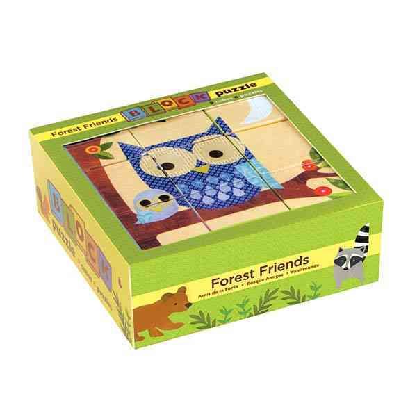 Forest Friends Block Puzzle By Petit Collage (COR)